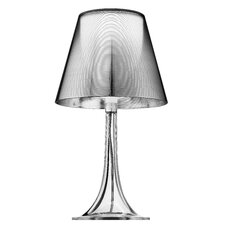 Miss K Table Lamp in Aluminized Silver