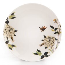 RHS White Rose 19cm Side Plate in White