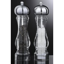 King Salt and Pepper Mill Set