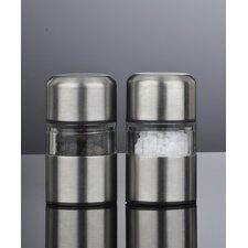 Mini Mill Stainless Steel Salt and Pepper Mill Set