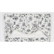 "Winston Floral Print Tie-Up 60"" Curtain Valance"