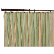 Warwick Polyester and Cotton Medium Scale Stripe Shower Curtain