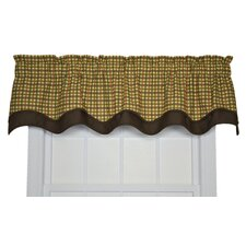 "Charlestown Check Bradford 70"" Curtain Valance"