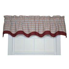 "Charlestown Check Bradford 70"" Curtain Valance"