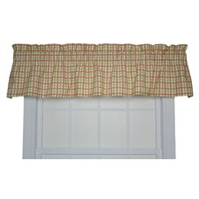 "Charlestown Check 70"" Curtain Valance"
