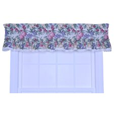 <strong>Ellis Curtain</strong> Kitchen Harvest Fruit Cotton Blend Rod Pocket Ruffled Curtain Valance