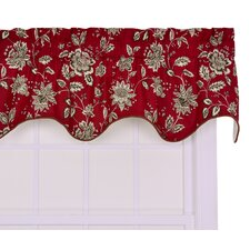 <strong>Ellis Curtain</strong> Jeanette Cotton Lined Duchess Filler Valance Window Curtain