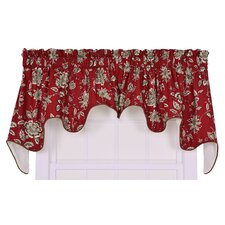 <strong>Ellis Curtain</strong> Jeanette Cotton Lined Duchess Valance Window Curtain