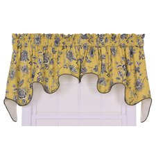 "Jeanette Lined Duchess 100"" Curtain Valance"