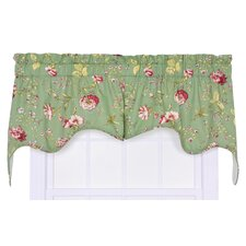 <strong>Ellis Curtain</strong> Coventry Cotton Blend Rod Pocket Swag Curtain Valance