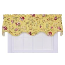 "Coventry Rod Pocket Scalloped 70"" Curtain Valance"