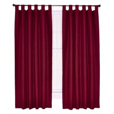 <strong>Ellis Curtain</strong> Crosby Insulated Tab Top Foamback Curtains Panel (Set of 2)