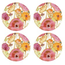 <strong>Lenox</strong> Floral Fusion Party Plates (Set of 4)