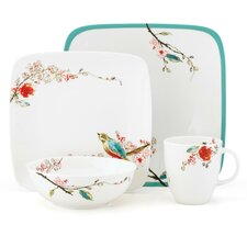 <strong>Lenox</strong> Chirp Square 4 Piece Place Setting