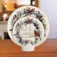 Winter Greetings 12 Piece Dinnerware Set