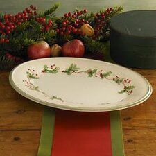 Holiday Gatherings Oval Platter