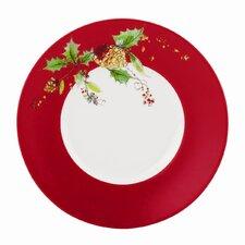 """Winter Song 7.5"""" Dessert Plate (Set of 4)"""