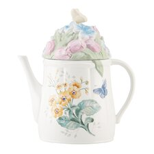 Butterfly Meadow Water Can Cookie Jar