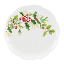 <strong>Lenox</strong> Winter Meadow Holly Accent Plate