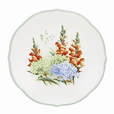 "Floral Meadow 9"" Hydrangea Accent / Salad Plate"
