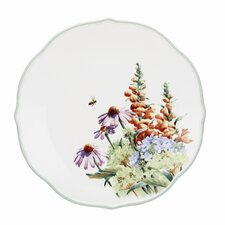 "Floral Meadow 10.88"" Hydrangea Dinner Plate"