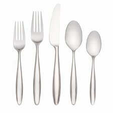 Curve Flatware 5 Piece Plate Place Setting
