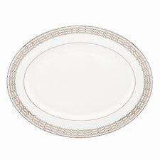 "Embraceable 13"" Oval Platter"