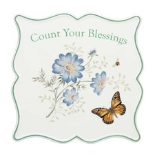 <strong>Lenox</strong> Butterfly Meadow Sentiment Trivet Bless