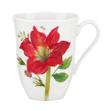 Winter Meadow Amaryllis Mug