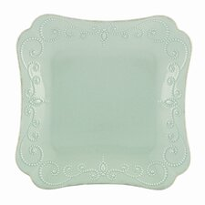 <strong>Lenox</strong> French Perle Square Dinner Plate
