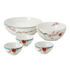 <strong>Lenox</strong> Lenox Chirp Dish It Out 5-Piece Bowl Set