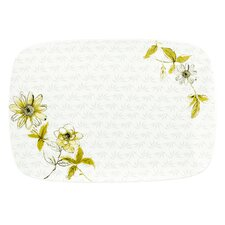 "Watercolor Citrus 16"" Rectangular Platter"