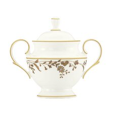 Golden Bough Sugar Bowl with Lid