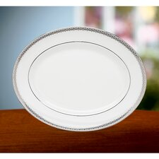 Lace Couture Oval Platter