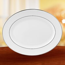 Hannah Platinum Oval Platter