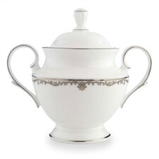 Coronet Platinum Sugar Bowl with Lid