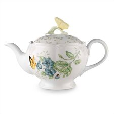 <strong>Lenox</strong> Butterfly Meadow Teapot with Lid
