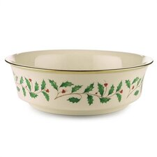 "Holiday 9.25"" Serving Bowl"
