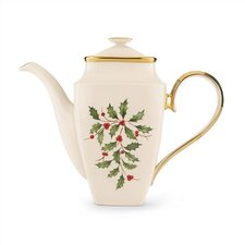 <strong>Lenox</strong> Holiday Square Coffeepot with Lid
