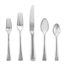 Federal Platinum 5 Piece Flatware Set
