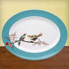 "Chirp 16"" Oval Platter"