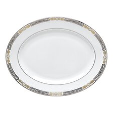"Antiquity 13"" Oval Platter"