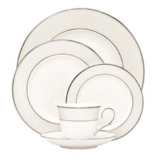 Opal Innocence Stripe 5 Piece Place Setting