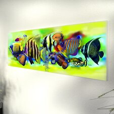 "Glasbild ""Tropical Fishes"""
