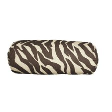 Zebra Synthetic Bolster Pillow