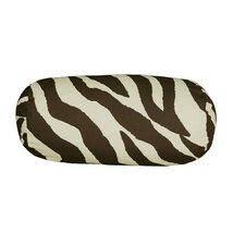 Zebra Synthetic Neckroll Pillow