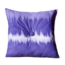 <strong>Karin Maki</strong> Tie Dye Cotton Blend Square Pillow