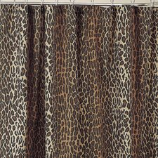 Leopard Cotton / Polyester Shower Curtain