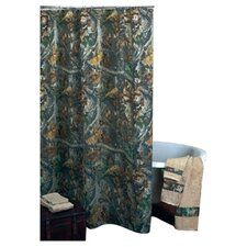Timber Cotton Blend Shower Curtain