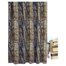 All Purpose Cotton Shower Curtain